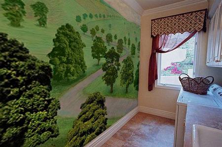 有关传统没的的墙绘