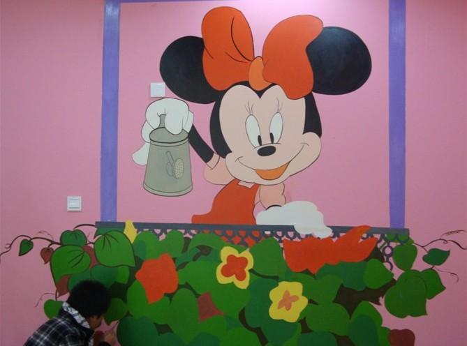 幼儿园环境装饰,手工绘画,壁画,立体绘画,喷画这些都与教学和师生有