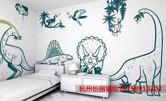 儿童房线描墙绘动物.jpg