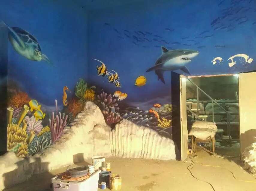 海底世界墙绘鲨鱼.jpg